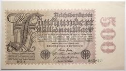 Allemagne - 500000000 Mark - 1923 - PICK 110d.2 - SPL - [ 3] 1918-1933: Weimarrepubliek