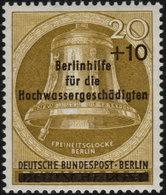 ✔️ West Berlin 1956 - Hochwassergeschädigten - Mi. 155 ** MNH - €5 - Unused Stamps