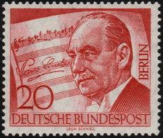 ✔️ West Berlin 1956 - Paul Lincke - Mi. 156 ** MNH - €3 - Unused Stamps