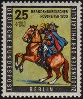 ✔️ West Berlin 1956 - Tag Der Briefmarke - Mi. 158 ** MNH - €4 - Unused Stamps