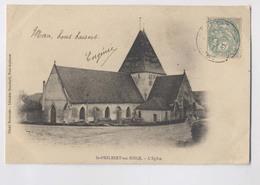 ST PHILIBERT SUR RISLE (27 - Eure) - L'église - Avant 1905 - Carte Précurseur - Saint Philibert - France