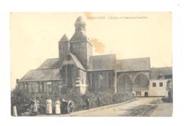 MESSINES / MESEN  - L'Eglise Et L'ancien Cimetière - 1910   (321) - Messines - Mesen