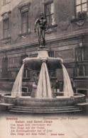 """Breslau, Zierbrunnen """"Der Fechter"""", Gabel- Und Sabel-Jürge, Alfred Hafner, 1906. (Wroclaw, Fontanna Szermierz). - Pologne"""