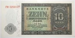Allemagne De L'Est - 10 Deutsche Mark - 1948 - PICK 12b - NEUF - [ 6] 1949-1990: DDR - Duitse Dem. Rep.