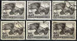 Österreich 1952,Michel# 968 O Golden Eagle (Aquila Chrysaetos) - 1945-.... 2nd Republic