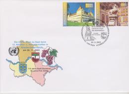 ONU / NATIONS-UNIES Genève, 12° Réunion Des Collectionneurs En Basse-Autriche, Stockereau 30.11.2003 - Cartas