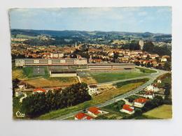 Carte Postale : 64 ORTHEZ : Vue Générale Aérienne, Timbre En 1971 - Orthez