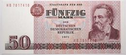 Allemagne De L'Est - 50 Mark - 1971 - PICK 30b - NEUF - [ 6] 1949-1990 : RDA - Rep. Dem. Tedesca