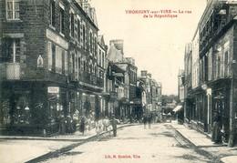 TORIGNI SUR VIRE     La Rue D E La Republique - Autres Communes