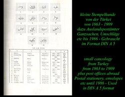 Die Arabischen Stempel - 1863 - 1909 - - Storia Postale