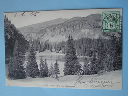 Cpa Suisse -- VILLARS Sur OLLON -- Lac Des Chavonnes - Cpa 1905 - VS Valais