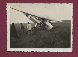 180420 - PHOTO Année 1937 - AVIATION Avion BRESIL PORTO ALEGRE Accident AJBI - Aéropostale - Luftfahrt