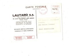 Carte Publicitaire Des Année 1970 éditée Par Les Ets LAUTARD BOBIGNY - Industry