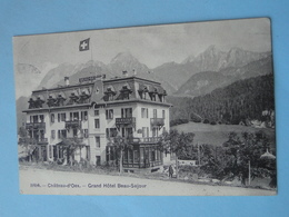 Cpa Suisse -- CHATEAU D'OEX -- Grand Hôtel Beauséjour - Cpa 1907 - VD Vaud