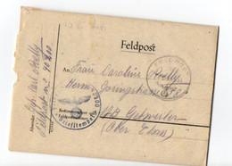 D5 10 06 1944 Lettre D'un Soldat Malgré Nous - Postmark Collection (Covers)