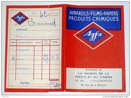 Pochette à Négatifs Agfa  Maison De La Photo Et Cinéma à Coulommiers 77 Seine Et Marne - Supplies And Equipment