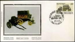 2322 - FDC Zijde - Dag Van De Postzegel  #2 - FDC