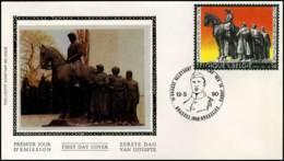 2369 - FDC Zijde - Leie Monument Kortrijk  #1 - FDC