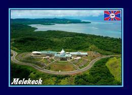 Palau Melekeok Capitol Aerial View New Postcard - Palau