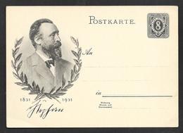 POSTKARTE 1931 DEUTSCHE REICH POST - Germania