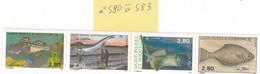 Saint Pierre Et Miquelon - 1993 - Neuf - YT N° 580 à 583 - Unused Stamps
