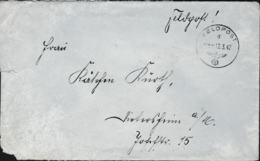 German Feldpost WW2: From Brest In France - Kreis-Kommandantur 623 FP 32824 P/m 12.3.1942 - Letter From A Lazarett - Militaria