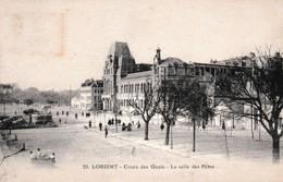 LORIENT COURS DES QUAIS ET LA SALLE DES FETES REF 65418 - Lorient