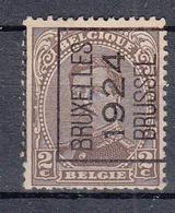 BELGIË - PREO - 1924 - Nr 89 A (Kantdruk) - BRUXELLES 1924 BRUSSEL - (*) - Préoblitérés
