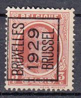 BELGIË - PREO - Nr 184 A - BRUXELLES 1929 BRUSSEL - (*) - Sobreimpresos 1922-31 (Houyoux)