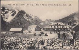 CPA Ansichtskarte AK Lautaret Hôtel Et Refuges, Ua Fond Massif De La Meije, Non Circulé - France