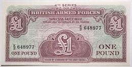 Grande-Bretagne - 1 Pound - 1962 - PICK M36a - NEUF - Military Issues
