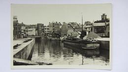 PONT, CANAL , PENICHE , MAUBEUGE  . - France