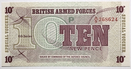 Grande-Bretagne - 10 New Pence - 1972 - PICK M48 - NEUF - Military Issues