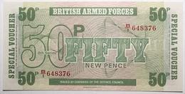 Grande-Bretagne - 50 New Pence - 1972 - PICK M49 - NEUF - Military Issues