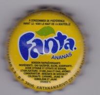 MADAGASCAR  - CAPSULE SODA FANTA ANANAS  - FABRIQUER   BRASSERIE STAR A ANTANANARIVO TANANARIVE - Soda