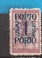 1920  44-50 PORTO SLOVENIA JUGOSLAVIJA JUGOSLAWIEN  HINGED - Slovenia