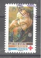 France Autoadhésif Oblitéré N°1724 (Au Profit De La Croix-Rouge) (cachet Rond) - Usati