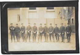CARTE PHOTO Militaire Militaria Guerre 7° Régiment 7 1911 écrite De FONTAINEBLEAU - Regimente
