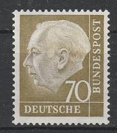 GERMANIA BUND  1954  Xx    MI 191  -   Postfrisch    -  Vedi  Foto  ! - Ungebraucht