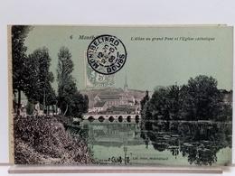25 - MONTBELIARD - L'ALLAN AU GRAND PONT ET L'GLISE CATHOLIQUE - Lib. PELOT 6 - 1906 - Montbéliard