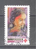 France Autoadhésif Oblitéré N°1722 (Au Profit De La Croix-Rouge) (cachet Rond) - Usati