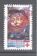 France Autoadhésif Oblitéré N°1728 (Au Profit De La Croix-Rouge) (cachet Rond) - Usati