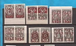 1920   139-44  VOLGSABSTIMMUNG KAERTEN SLOVENIA JUGOSLAVIJA JUGOSLAWIEN  MNH - Slovenia