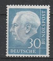 GERMANIA BUND  1954  Xx    MI 187  -   Postfrisch    -  Vedi  Foto  ! - Ungebraucht