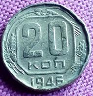 RUSLAND : 20 KOPEK  1946 Y111 - Rusland