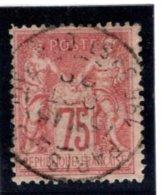 Sage N° YT 71 Oblitéré - 1876-1878 Sage (Type I)