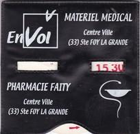"""SAINTE FOY LA  GRANDE ,,,,DISQUE DE STATIONNEMENT  ,,,,""""  ENVOL """"  Materiel  Medical  STE FOY LA GRANDE - France"""
