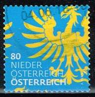 Österreich 2017,Michel# 3312 O Wappen (Ausschnitte): Niederösterreich - 2011-... Usados