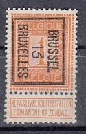 BELGIË - PREO - Nr 37 B - BRUSSEL 13  BRUXELLES - (*) - Precancels