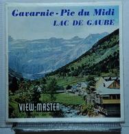 VIEW MASTER  :   GAVARNIE - PIC DU MIDI - LAC DE GAUBE  C 188  :  POCHETTE DE 3 DISQUES - Visionneuses Stéréoscopiques